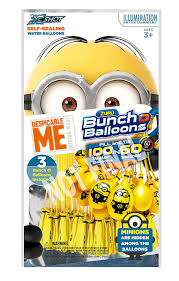 bunch of balloons water balloons bunch o balloons minions toys
