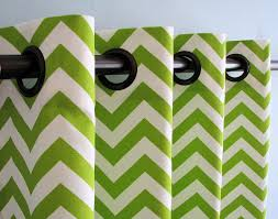 Green Chevron Shower Curtain Lime Green Chevron Shower Curtain Affordable Modern Home Decor