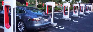 tesla model s charging tesla extends free charging at supercharger stations inhabitat