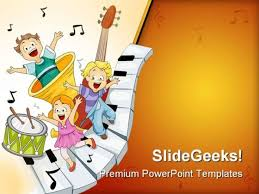ppt music templates free download musical notes entertainment