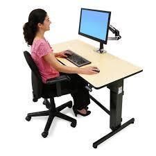 Sit Stand Desks by Ergotron Workfit D Sit Stand Desk Stand Steady