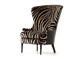 Leopard Armchair Products Wing Chairs Jessica Charles