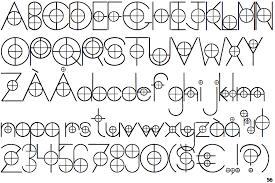 design lines font fontscape home appearance construction lines
