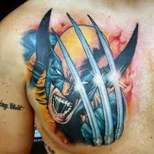 3d Tattoo Ideas For Men 90 Wolverine Tattoo Designs For Men X Men Ink Ideas