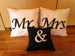 mr and mrs pillow create imagine mr mrs pillows