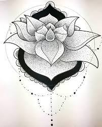 15 lotus flower tattoo design sketches