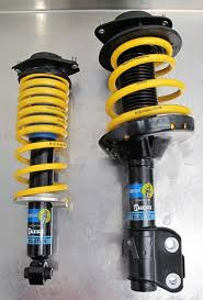yellow subaru wrx racecomp engineering gtworx bilstein impreza cup sport kit for