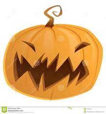 scary halloween pumpkin cartoon royalty free stock photo image