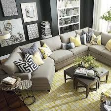 Bassett Sectional Sofa Hgtv Home Cu 2 Left Cuddler Sectional By Bassett Furniture