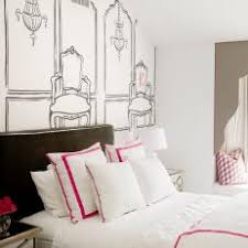 Black And White And Pink Bedroom Ideas - black and white kids room photos hgtv