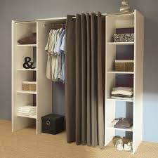 dressing chambre adulte dressing extensible 2 ères coloris blanc taupe darma dressing