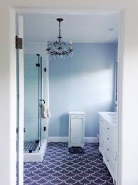 Blue Tile Bathroom Ideas Ceramic Tile Ideas For Small Bathrooms Hall Bath Before And After