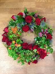 scottish style ring wreath