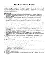 sample resume for merchandiser job description visual