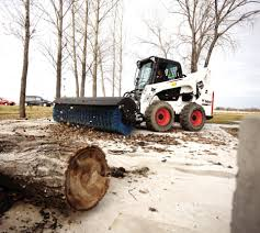 skid steer electrohydraulic controls enhance attachment productivity