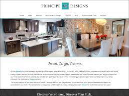 platinum design interior design website design