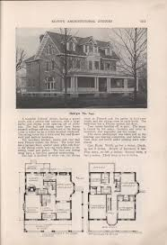 Victorian Mansion Floor Plans Old Victorian House Plans by 310 Best Floor Plans Images On Pinterest Vintage Houses