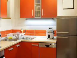 kitchen color combination ideas orange white color scheme for kitchen