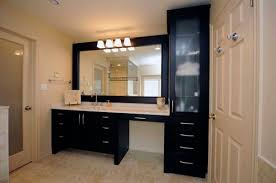 Bathroom Makeup Vanities Furniture Bathroom Makeup Vanity Dimensions Furnitures