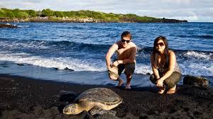 black sand beach big island 2010 12 24 punalu u black sand beach naalehu big island of