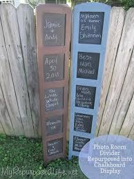 room divider chalkboard my repurposed life
