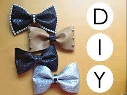 fabric bows diy no sew fabric hair bows