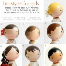 latest holiday wood hairstyles painted hairstyles for wooden dolls great guide dollhouse