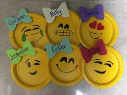 emoji door decorations really simple small yellow plates purchase