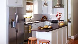 Free Kitchen Makeover - small kitchen makeovers on a budget design ideas information
