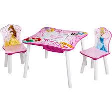 walmart table and chairs set disney princess table and chair set with storage walmart com