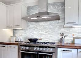 Glass Tile Backsplash White Cabinets DAY MONEY BACK GUARANTEE - Backsplash white