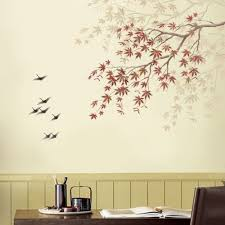 home decor stencils stencil japanese maple branch reusable stencils for easy home