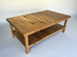 coffee tables simple country oak coffee table with drawer and