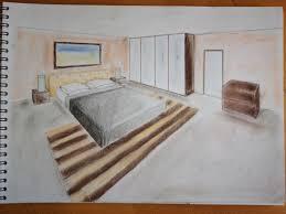dessin chambre en perspective dessiner une chambre en perspective chaios com