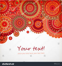 detailed ornament background bright design vector stock vector