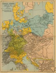 Unification Of Germany Map by Map Of Central Europe 1805 1807 The War Of The Third Coalition