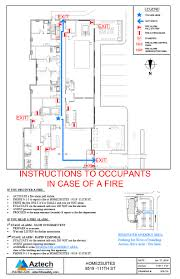 fire safety plans u0026 evacuation plans u2013 aztech