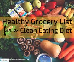 clean eating grocery list u2022 healthy food list u2022 healthy happy smart