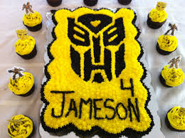 Transformer Cupcake Cake My Cupcake Creations Pinterest