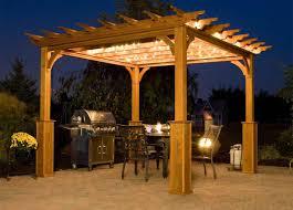 Free Standing Canopy Patio Pergola Free Standing Pergola With Canopy Glamorous Vinyl