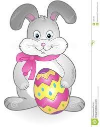 vector easter bunny stock vector image of greeting cartoon