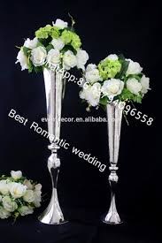 Flower Vases Centerpieces Elegant Vase Wedding Centerpieces Tall Metal Vases Wedding View