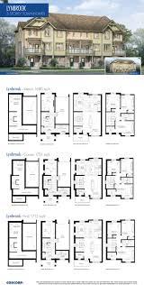 3 Storey Townhouse Floor Plans Townhomes Floorplans Southfields Coscorp Inc