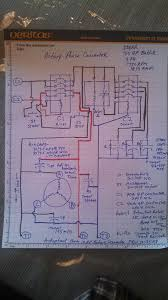 electric motor capacitor wiring diagram baldor 7hp motor wiring