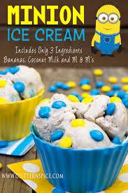 minion ice cream glitter u0027n spice