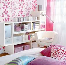 Diy Bedroom Storage Diy Storage Ideas For Small Bedrooms With White And Pink Colors