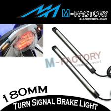 Auto Led Strip Lights by 18cm Rear Footpegs Brake Indicator Led Strip Light For Fz6n Yzf R1