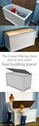 How To Make A Wooden Toy Box by Best 25 Toy Box Plans Ideas On Pinterest Diy Toy Box Toy Chest