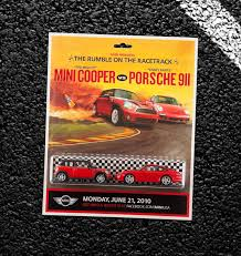 porsche racing poster mini u2014 alex rice acd art director