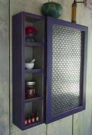 custom made metal storage cabinets expedited cabinet rustic wall cabinet in coal and periwinkle with